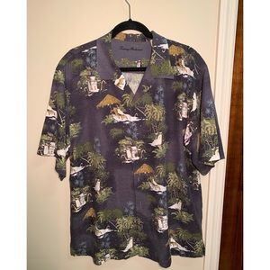 Tommy Bahama | Y2K Penguin Christmas Button Down